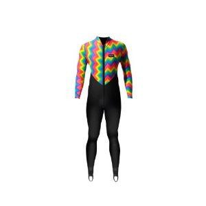 Thalassa Nylon 35 (Unisex, full body suit with Rainbow Pattern design)