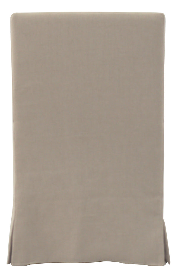 SANDSPUR BEACH ARM DINING CHAIR - BRUSHED LINEN - Padma's Plantation