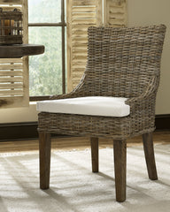 SET OF 2 - ALFRESCO DINING CHAIR - KUBU - Padma's Plantation