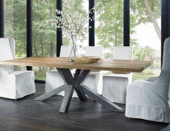 ARENA RECLAIMED TEAK DINING TABLE - Padma's Plantation