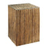Bamboo Stick Side Table Base With Glass - Padma's Plantation
