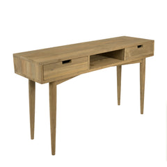 BARCELONA RECLAIMED TEAK DESK / CONSOLE TABLE