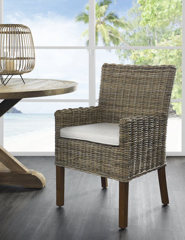 Boca Arm Dining Chair - Kubu - Padma's Plantation