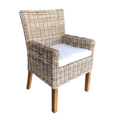 Boca Arm Dining Chair - Kubu