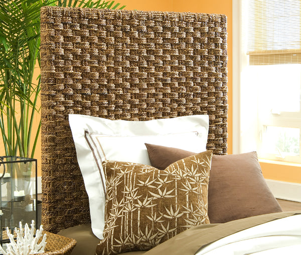 Basket Weave Headboard - Twin - Padma's Plantation