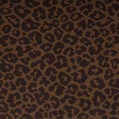 10 YARDS OF P KAUFMANN - MARTINI / LEOPARD FABRIC