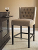 CAPTIVA ISLAND COUNTER STOOL  - MUDDY BROWN LINEN