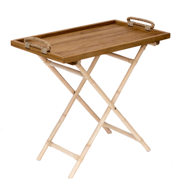CHARLESTON FOLDING SERVING TABLE - Padma's Plantation