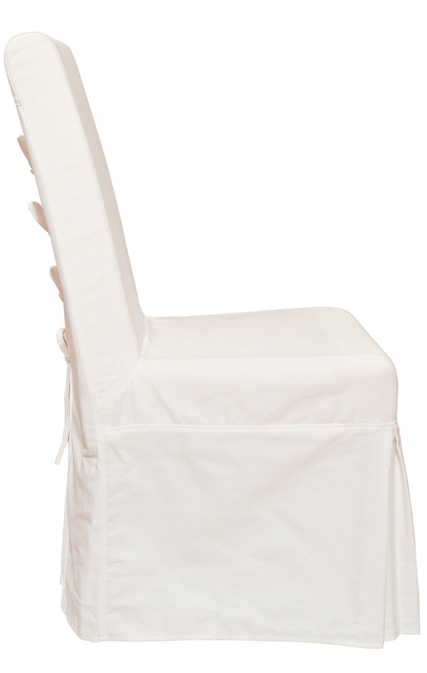 Pacific Beach Dining Chair - Sunbleached White - Padma's Plantation