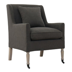 DEL RAY BEACH OCCASIONAL CHAIR - SMOKE GREY