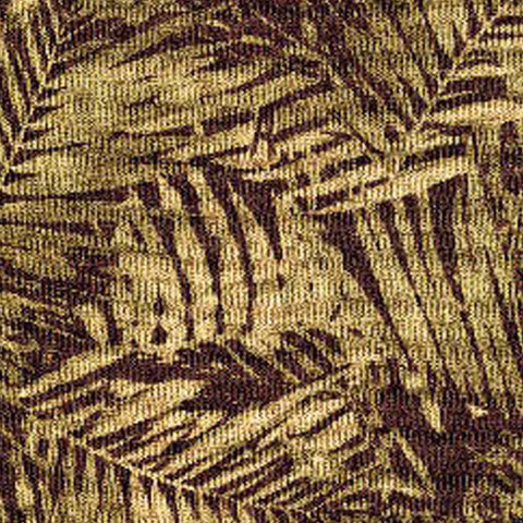 10 YARDS OF RICHLOOM - PALM BAY / LATTE FABRIC
