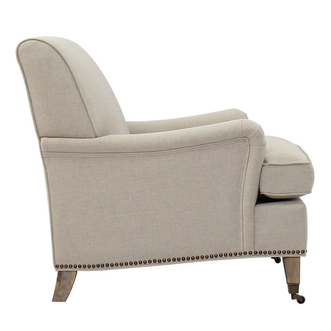 ISLAMORADA LOUNGE CHAIR - BRUSHED LINEN