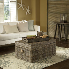 KUBU COFFEE TABLE TRUNK - Padma's Plantation