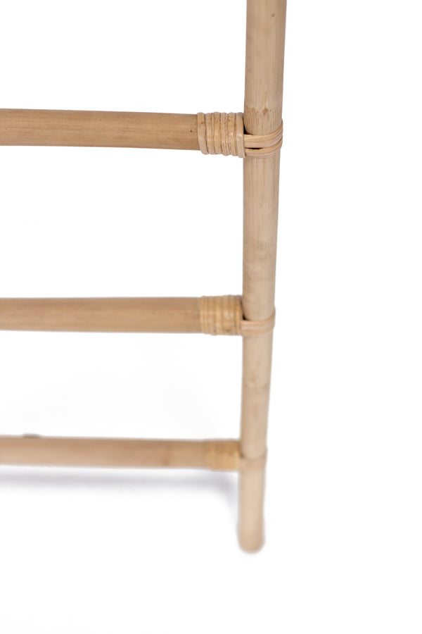 RATTAN DECORATIVE LADDER - NATURAL - Padma's Plantation