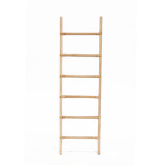 RATTAN DECORATIVE LADDER - NATURAL