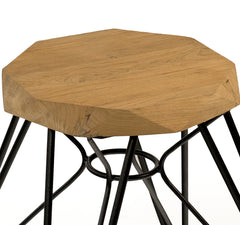 MADRID STOOL - WHITE - Padma's Plantation