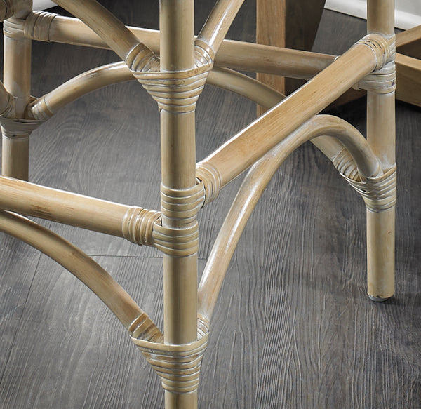 Malio Counter stool - Whitewash - Padma's Plantation