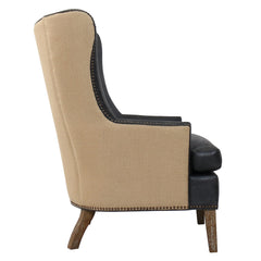 OCEAN CLUB LOUNGE CHAIR - ECO LEATHER - Padma's Plantation