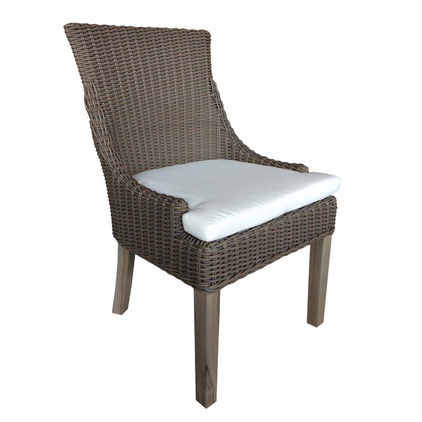 OUTDOOR ALFRESCO DINING CHAIR - OUTDOOR KUBU - Padma's Plantation