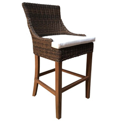 OUTDOOR ALFRESCO BARSTOOL - CROCODILE RATTAN