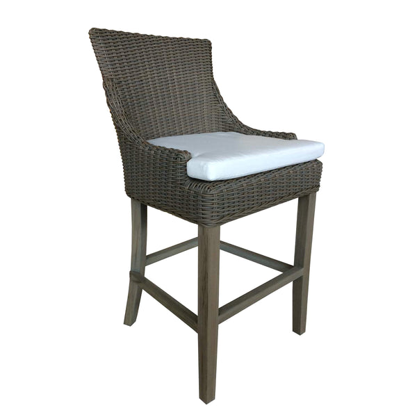 OUTDOOR ALFRESCO COUNTER STOOL - OUTDOOR KUBU - Padma's Plantation