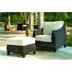Outdoor Bay Harbor Ottoman - Padma's Plantation