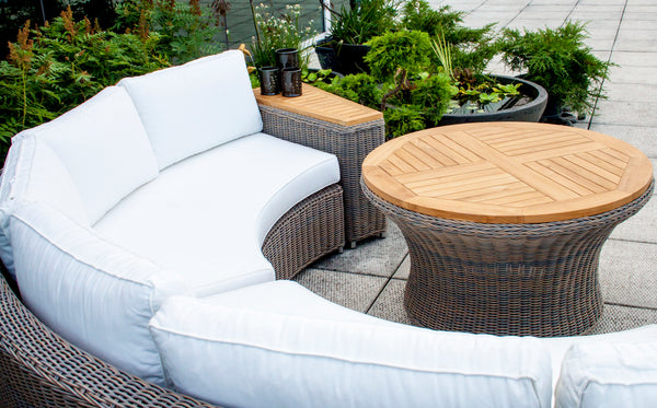 BARBADOS OUTDOOR END TABLE - Padma's Plantation