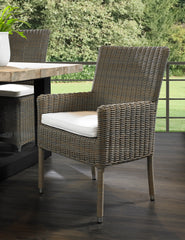 OUTDOOR BOCA ARM DINING CHAIR - Padma's Plantation