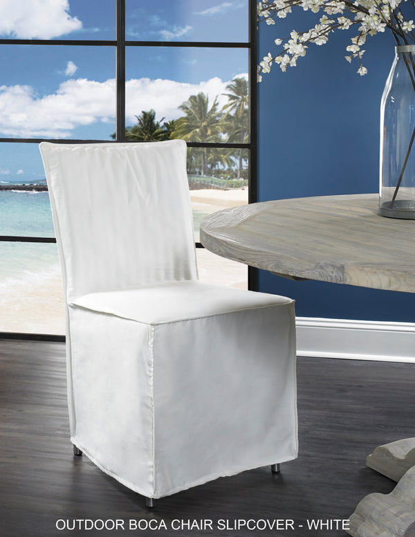 Outdoor Boca Dining Chair Slipcover - Padma's Plantation