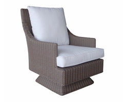 OUTDOOR CAYMAN ISLANDS ROCKING SWIVEL CHAIR