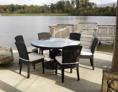 "Outdoor Gulf Shore 60"" Dining Table - Padma's Plantation"