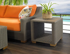 NAUTILUS OUTDOOR SIDE TABLE - Padma's Plantation