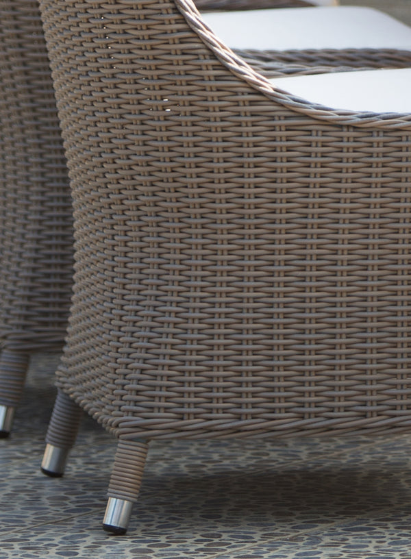 Outdoor Nautilus Dining Chair - Padma's Plantation