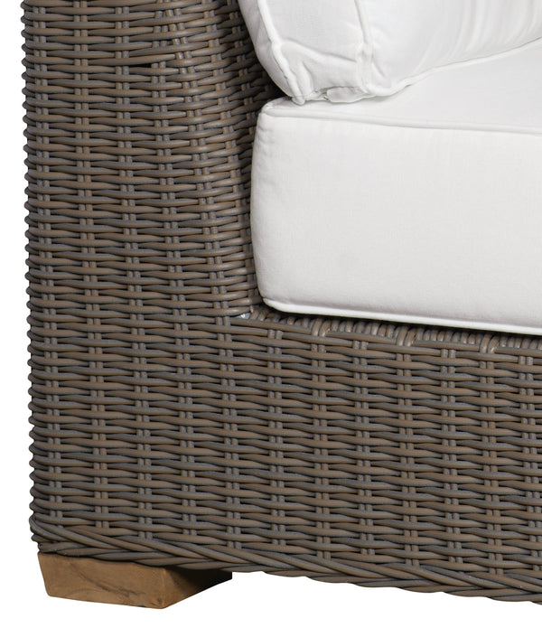 NAUTILUS OUTDOOR LEFT-FACING LOVESEAT - Padma's Plantation
