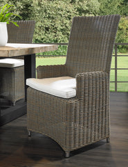 OUTDOOR NICO ARM DINING CHAIR - Padma's Plantation