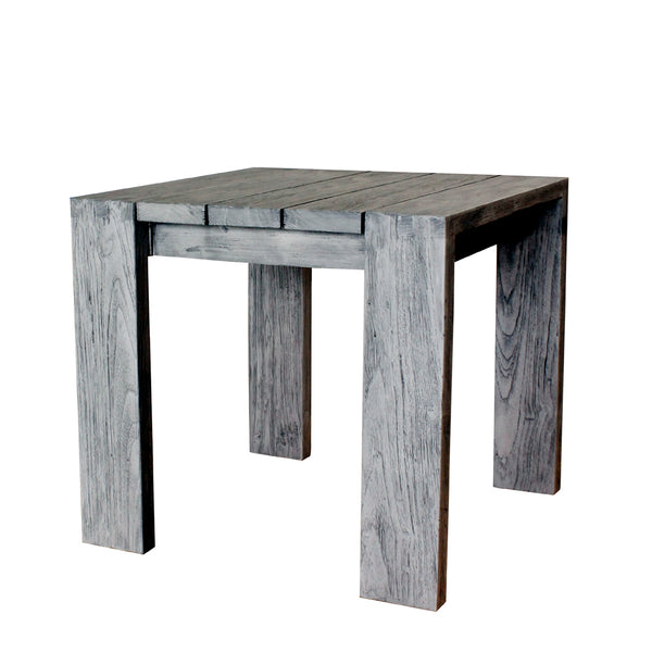 OUTDOOR RALPH RECLAIMED TEAK END TABLE