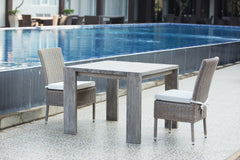 "RALPH RECLAIMED TEAK OUTDOOR DINING TABLE - 39"" - Padma's Plantation"