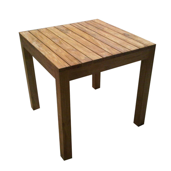 OUTDOOR RUSTIC TEAK DINING TABLE - Padma's Plantation