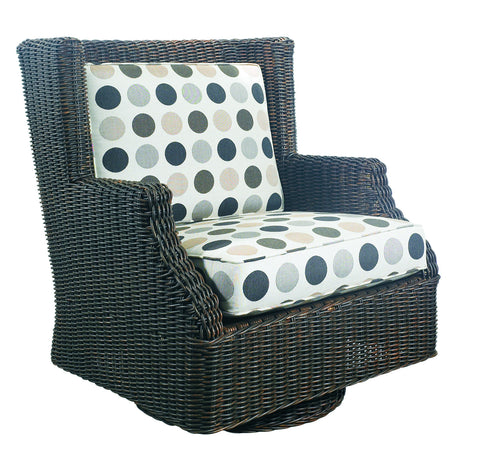 Terrace Outdoor Swivel Rocking Chair