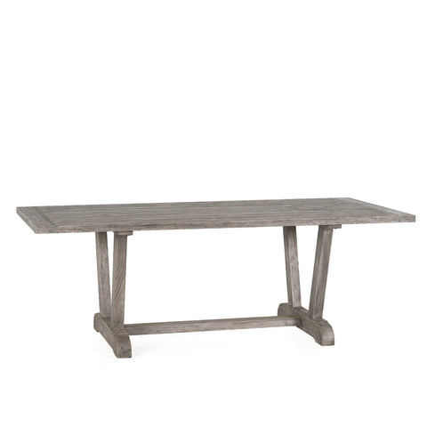 OUTDOOR VERONA RECLAIMED TEAK DINING TABLE