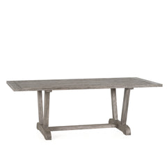 "OUTDOOR VERONA 86"" RECLAIMED TEAK DINING TABLE"