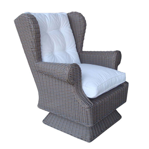OUTDOOR WING / SWIVEL ROCKING CHAIR