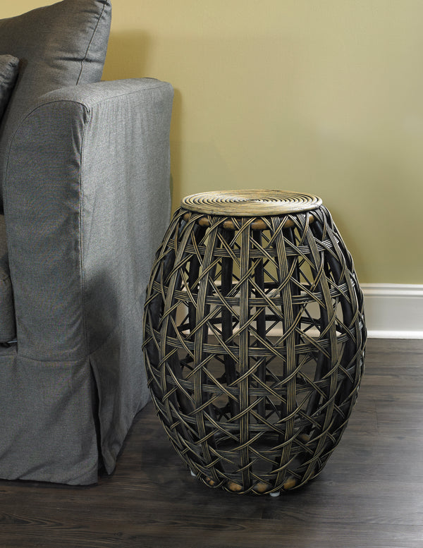 OPEN WEAVE END TABLE - Padma's Plantation