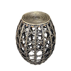 OPEN WEAVE END TABLE