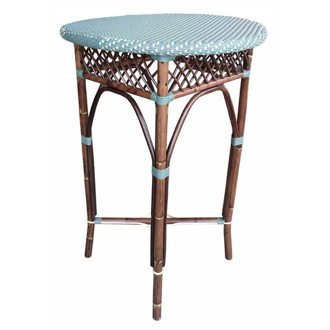 Paris Bistro Bar Table  - Blue