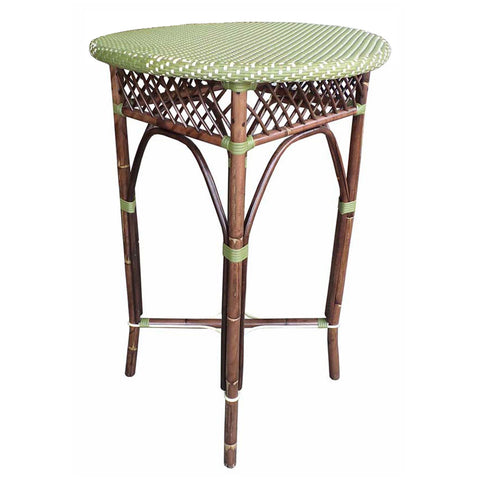 Paris Bistro Bar Table  - Green
