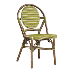 SET OF 2 - Paris Bistro Chair - Green