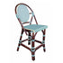 Paris Bistro Counter Stool - Blue - Padma's Plantation