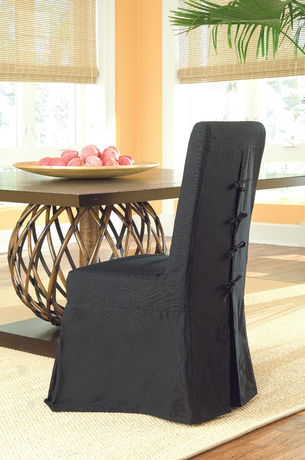 Pacific Beach Dining Chair - Black - Padma's Plantation