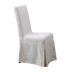 Pacific Beach Dining Chair Slipcover - Sunbleached White